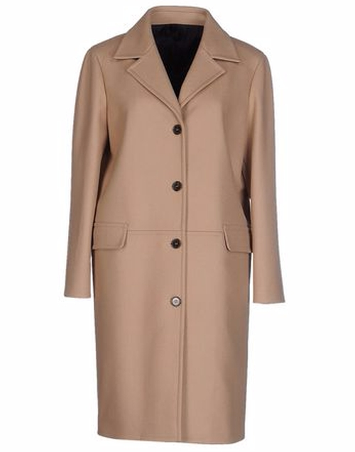 Single Breasted Coat by Jil Sander Navy in The Good Wife - Season 7 Episode 19