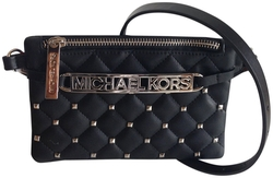 Leather Studded Belt Bag by Michael Kors in We Are Your Friends