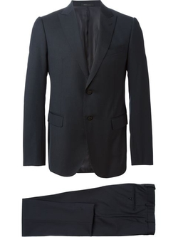 Classic Two Piece Suit by Armani Collezioni in New Girl