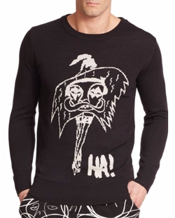 Le Femme Graphic Sweater by Haculla in Dope