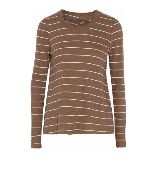 Striped Cotton And Cashmere-Blend Sweater by Enza Costa in Guilt - Season 1 Episode 1