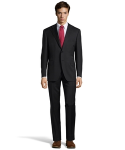 Wool 2-Button Suit by Canali in House of Cards