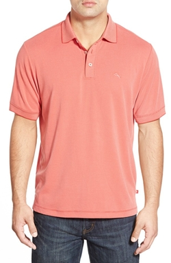 'New Pebble Shore' Short Sleeve Polo Shirt by Tommy Bahama in Sisters