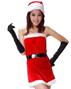 Sexy Santa Claus Lingerie Xmas Costume by Acefast Inc in Mean Girls