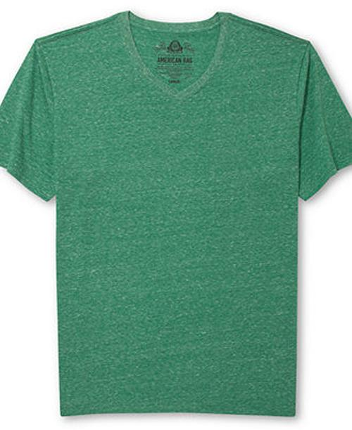 Solid Tri Blend T-Shirt by American Rag in Addicted