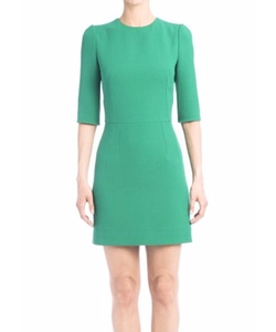 Wool Crepe Sheath Dress by Dolce & Gabbana in The Good Wife