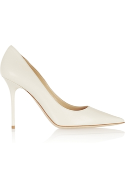 Abel Leather Pump Shoes by Jimmy Choo in Scandal
