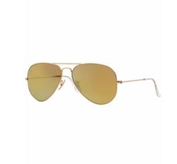 RB3025 Original Aviator Mirrored Sunglasses by Ray-Ban in Baywatch