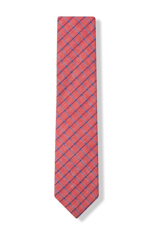 Stuart Check Tie by Wild Attire Ties in (500) Days of Summer