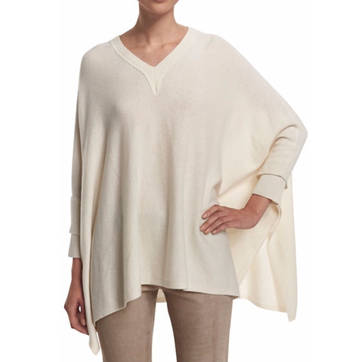 Cashmere-Blend V-Neck Poncho by Vince in Empire - Season 3 Episode 2