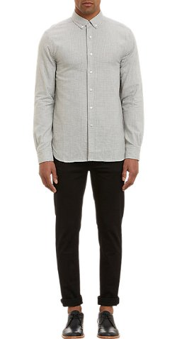 Gingham Booster Shirt by Shipley & Halmos in While We're Young