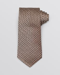 Circle Neat Classic Tie by Yves Saint Laurent in Hot Tub Time Machine 2