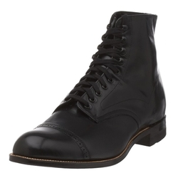 Men's Madison Cap Toe Boot by Stacy Adams in The Vampire Diaries
