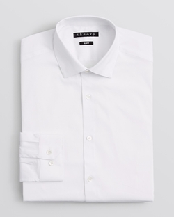 Dover Dress Shirt by Theory in Black Mass