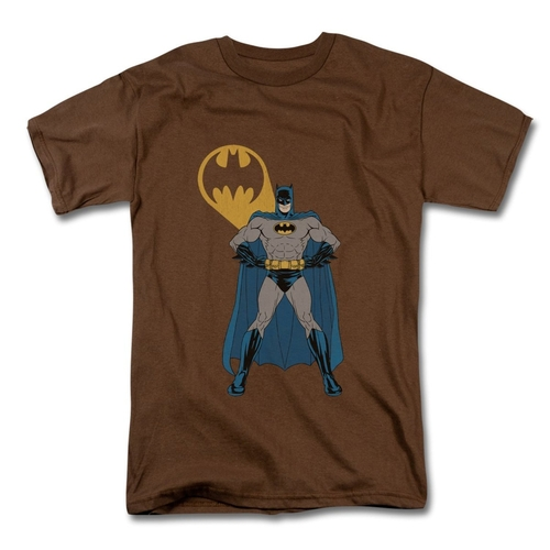 Men's Batman - Arms Akimbo Bats T-Shirt by Spreadshirt in The Big Bang Theory - Season 9 Episode 10