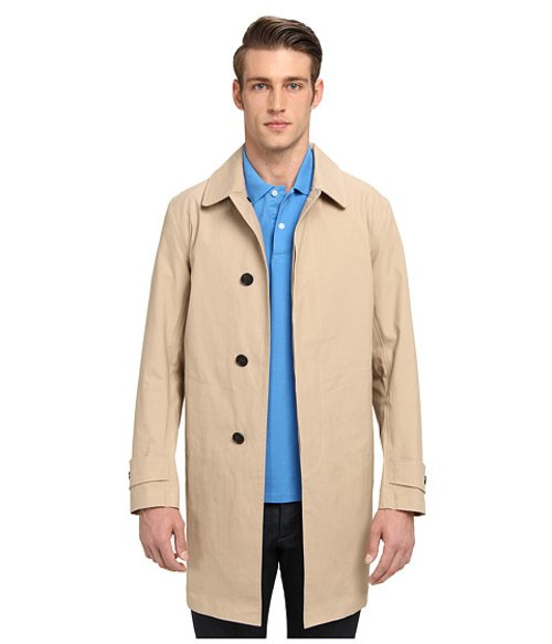 Bonded Trench Coat by Jack Spade in Sherlock Holmes: A Game of Shadows