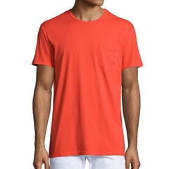 Solid Short-Sleeve T-Shirt by Vilebrequin in Jason Bourne