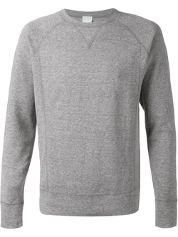 Crew Neck Sweatshirt by World Basics in Suits