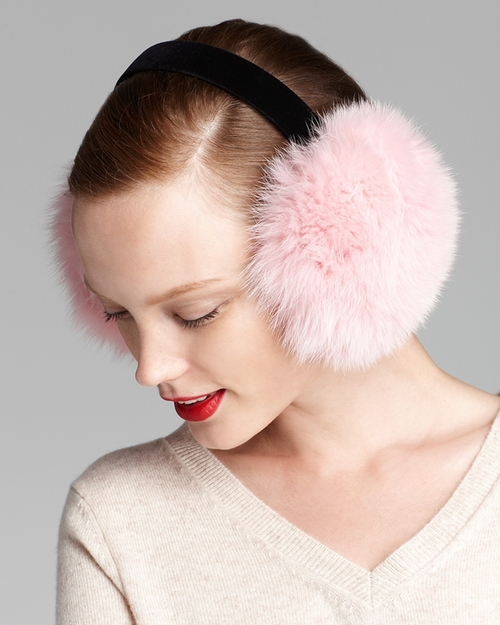 Fox Earmuffs by Maximilian in Scream Queens - Season 1 Episode 4