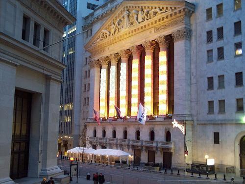 New York Stock Exchange New York City, New York in The Dark Knight Rises