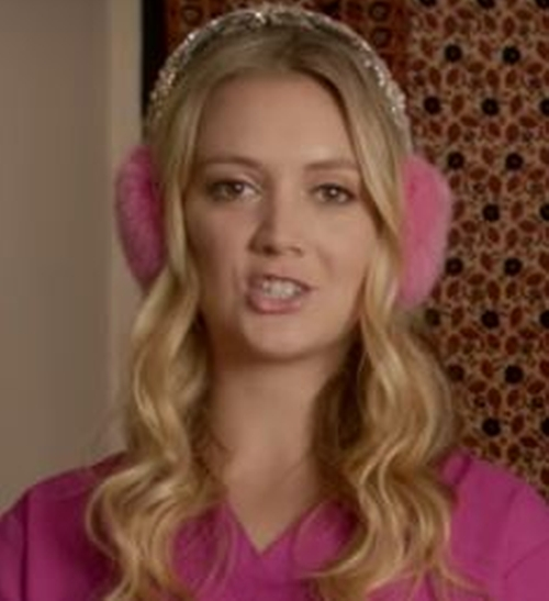 Custom Made Ear Muffs by Kiz Muff in Scream Queens - Season 2 Episode 10