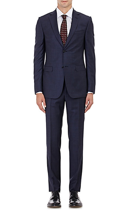 Worsted Two-Button Suit by Z Zegna in Suits - Season 5 Episode 4
