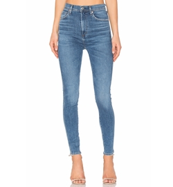 Roxanne Super High Rise Skinny Jeans by Agolde in The Fate of the Furious