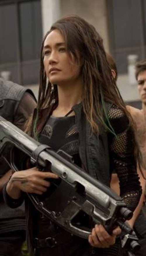 Custom Made 'Dauntless' Military Vest (Tori Wu) by Louise Mingenbach (Costume Designer) in The Divergent Series: Insurgent