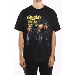 Deadstock Vintage Naughty By Nature Tee by F As In Frank Vintage in Keeping Up With The Kardashians