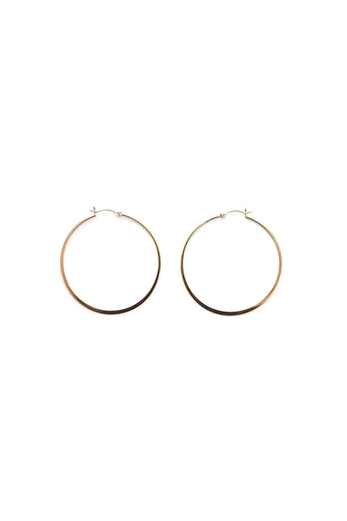 Liv Small Hoop Earrings by Jennifer Zeuner in Straight Outta Compton