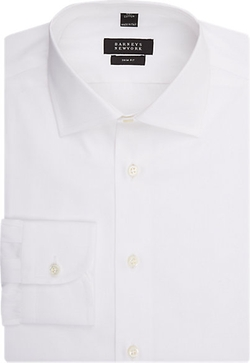 Trim-Fit Dress Shirt by Barneys New York in Joy