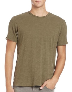 Standard Issue Basic Tee by Rag & Bone in Empire