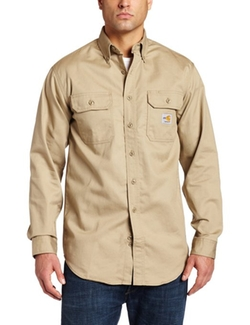 Men's Flame Resistant Classic Twill Shirt by Carhartt in Vacation