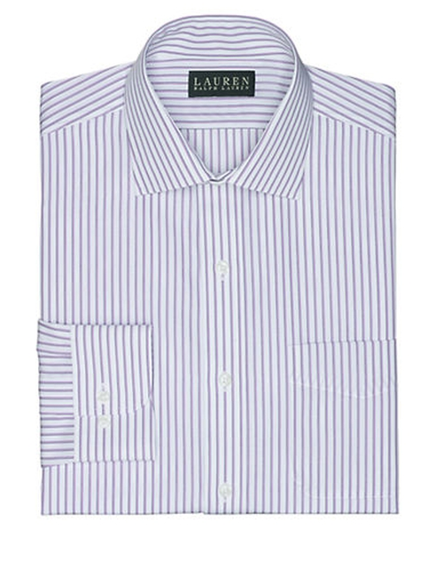 Classic-Fit Striped Warren Dress Shirt by Lauren Ralph Lauren in Ballers - Season 1 Episode 1