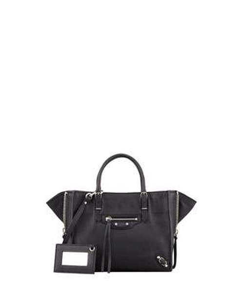 Papier A4 Mini Leather Tote Bag by Balenciaga in Addicted