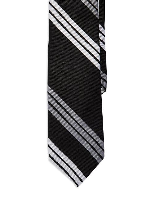 Striped Silk Tie by Ben Sherman in Ted