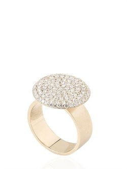 Round Flat Plate Chevalier Ring by Dinakamal Dk01 in Top Five