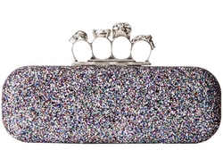 Glitter Clutch Bag by Alexander McQueen in Empire