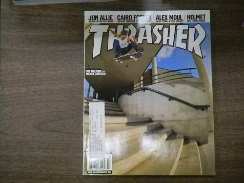 Toy Machine Vs Middle America October 2004 by Thrasher Magazine in The Secret Life of Walter Mitty