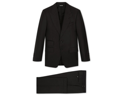 Windsor Three-Piece Peak Lapel Suit by Tom Ford in Power