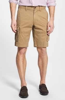Cotton Twill Cargo Shorts by Nordstrom in Vacation