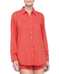 Poplin Cotton Sleep Shirt by Xirena in Pitch Perfect 2