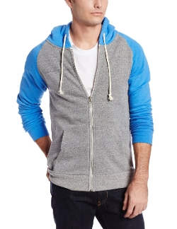 Men's Malibu Zip Hoodie Jacket by Threads 4 Thought in Dope