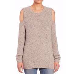 Page Cold-Shoulder Sweater by Rebecca Minkoff in Pretty Little Liars