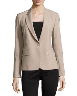 Gabe B 2 Urban One-Button Blazer by Theory in While We're Young