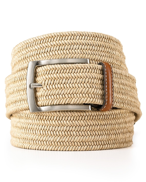 Stretch Braided Belt by The Men's Store At Bloomingdale's in The Transporter: Refueled