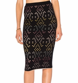 Ani Pencil Skirt by Alice + Olivia in Arrow