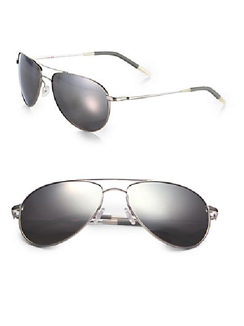 Benedict Aviator Sunglasses by Oliver Peoples in Million Dollar Arm