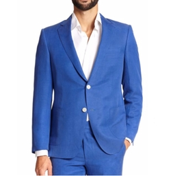 Samuelsohn Silk & Linen Sportcoat by Saks Fifth Avenue Collection in Empire