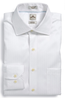 'Nanoluxe' Stripe Dress Shirt by Peter Millar in The 33